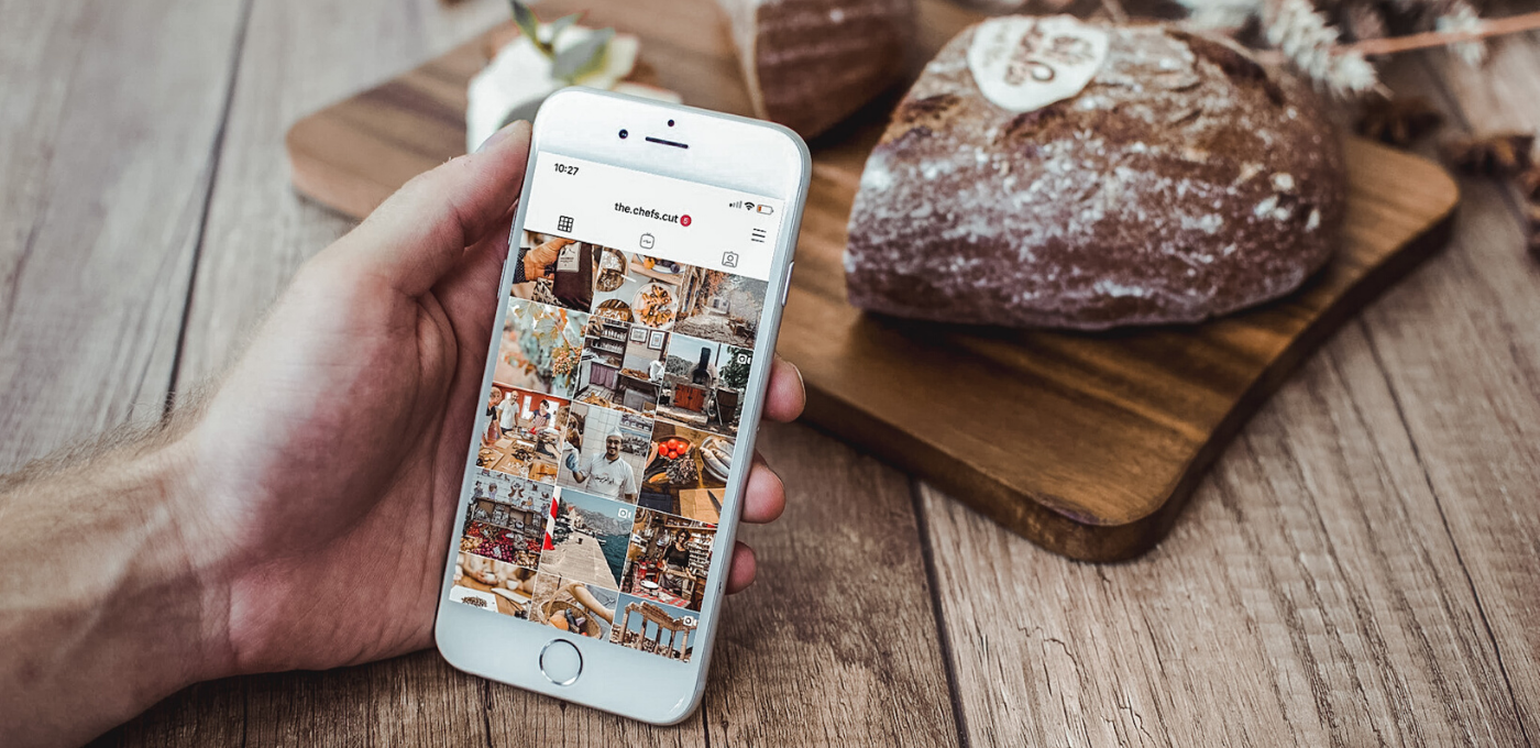 instagram feed social media marketing the chefs cut