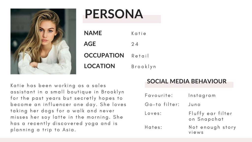 Persona example template